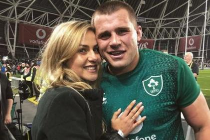 Baby joy for rugby player CJ Stander and wife Jean-Marie