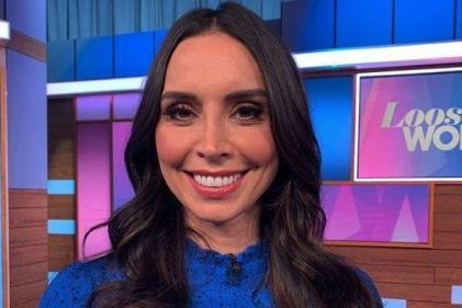 Christine Lampard reveals the moment that reduced her to tears during labour