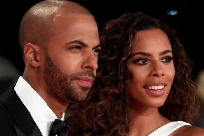 Perfect name: Rochelle Humes welcomes gorgeous new member to her family