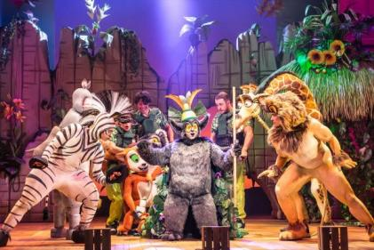 Madagascar the Musical at the Gaiety Theatre is the PERFECT family night out