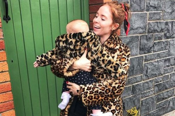 5ea58b35f The wildest year   Angela Scanlon marks daughter s 1st birthday...