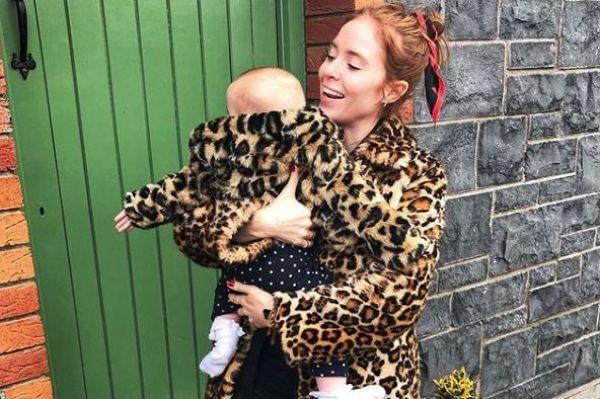 The wildest year: Angela Scanlon marks daughters 1st birthday with heartfelt post