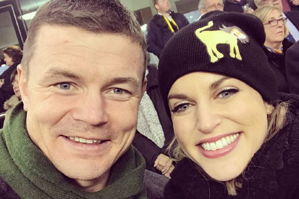Amy Huberman and Brian O Driscoll bid farewell to their Goatstown home