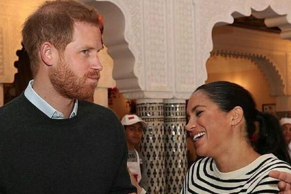 Prince Harry made a rather cheeky joke about Meghans pregnancy