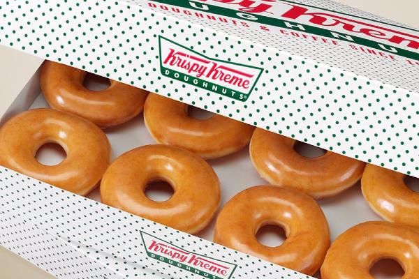 Krispy Kreme are releasing green doughnuts in honour of St. Patricks Day