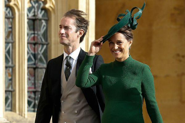 Pippa Middleton makes her first official appearance since becoming a mum