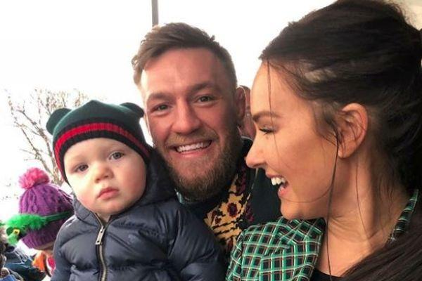 Conor McGregor posts stunning photo of Dee breastfeeding their baby girl