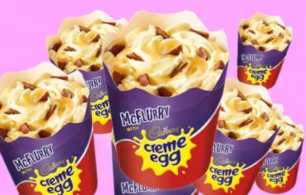 The glorious Cadbury Creme McFlurry is returning to McDonalds