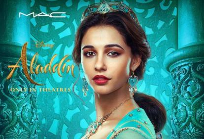 Disney announces gorgeous Aladdiin-inspired collaboration with MAC