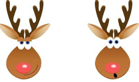 Rudolph bookmark