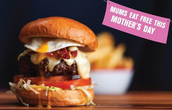 Captain Americas are offering a FREE meal to all mums this Mothers Day