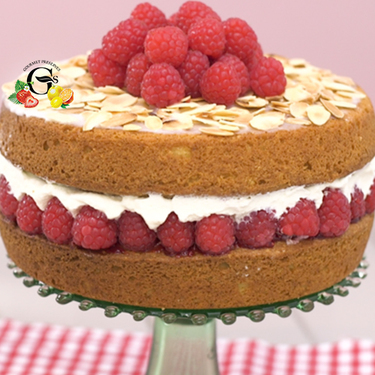 Bakewell layer cake