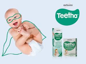 Is your little hero teething?