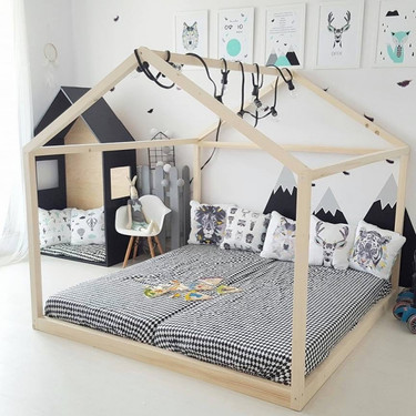 How to rearrange the space from the nursery into a toddlers bedroom