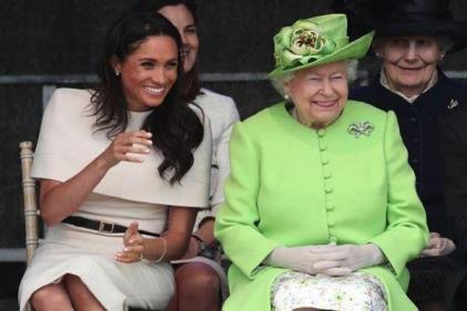 Queen Elizabeth says she is entirely supportive of Harry and Meghan