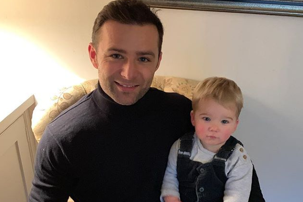 Harry Judd praised for honest confession about bonding with his son Kit