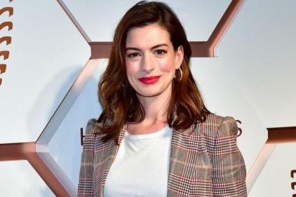 Congratulations! Anne Hathaway reveals she gave birth to a son last year