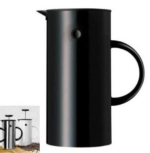 Dot press coffee maker