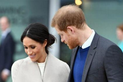Together again: The Duchess of Sussex returns to Archie in Canada