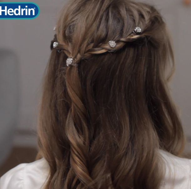 Gorgeous First Holy Communion Hairstyle