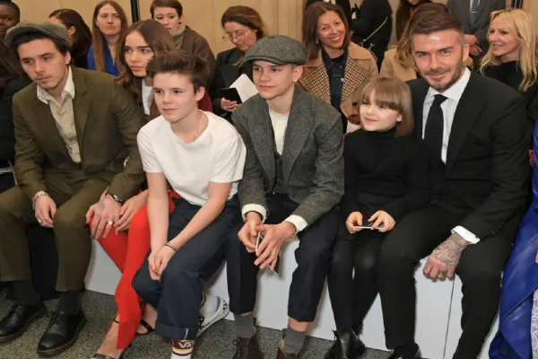 David Beckham shares adorable snaps from family bike ride