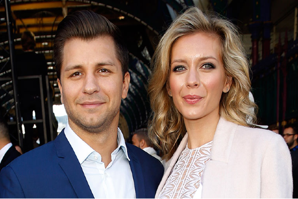 Over the moon: Rachel Riley announces first pregnancy with Pasha Kovalev