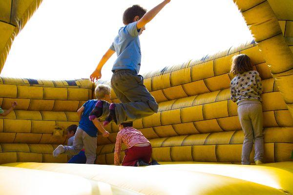 Communion season: Increase in injuries from Bouncy Castles and trampolines