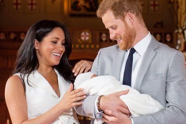 Harry and Meghan share their family Christmas card and Archie is too cute