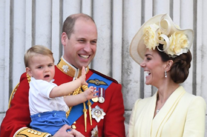 Trooping the Colour: Prince Louis steals the show as he shows off his royal wave