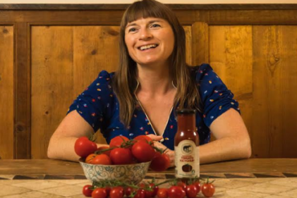 This mum-of-three created Mama Bear Foods for a healthy ketchup option