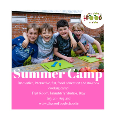 The Cool Food School Summer Camp