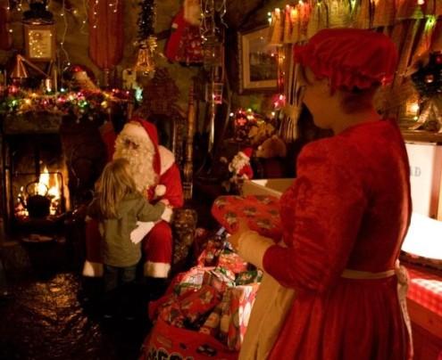 Down: Santas Cottage