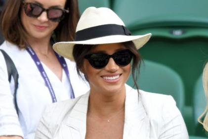 Meghan pays touching tribute to Archie during surprise appearance at Wimbledon