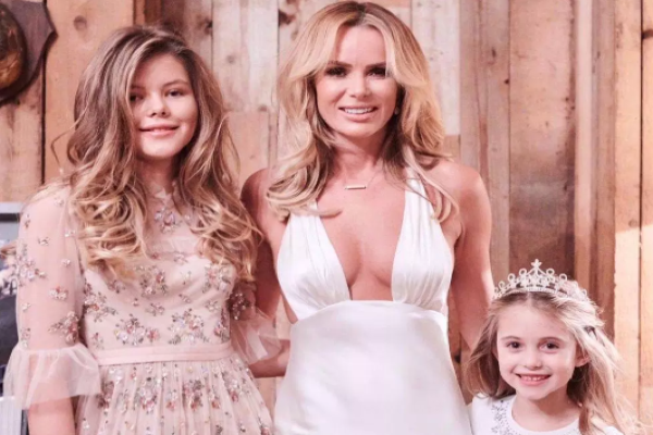 Its a pride thing: Amanda Holden defends sharing photos of her daughters online