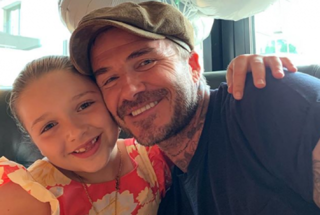 Harper is in love: Victoria Beckham shares cute photo of Harper with new friend