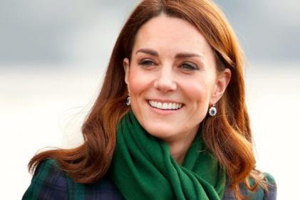 Duchess of Cambridge wraps up in beautiful winter coat on solo royal tour