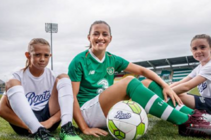 Boots kick off partnership with Rep. of Ireland Womens National Team