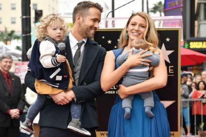 Ryan Reynolds posts hilarious photos of pregnant Blake Lively on her birthday