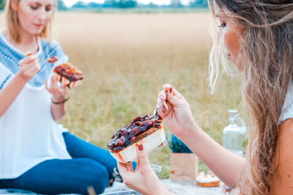 How do the food choices of mums change as summer comes to an end?