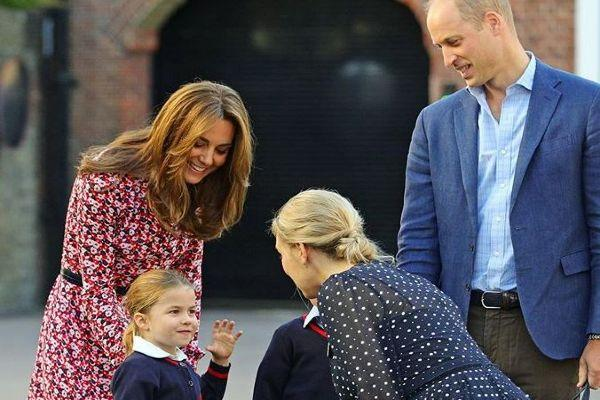 Kate and William release special back-to-school photo of George and Charlotte