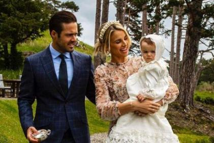 Vogue Williams and Spencer Matthews are expecting their second child