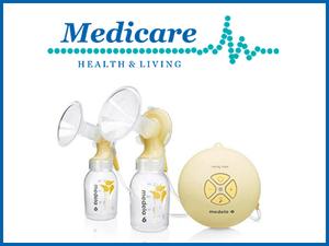 Get 15% OFF the Medela breastfeeding range with promo code BFW2019
