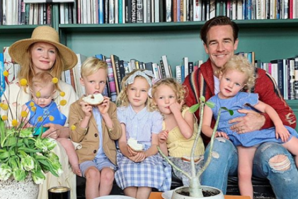 Congrats! James Van Der Beek and wife Kimberly are expecting baby #6