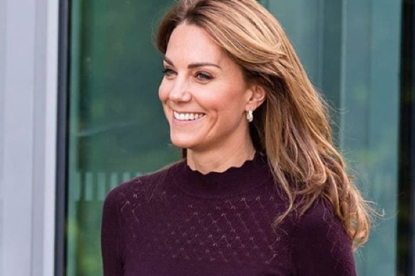 The Duchess of Cambridge wore the most beautiful autumnal outfit today