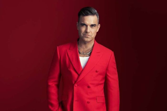 Feeling festive: Robbie Williams to release his first ever...