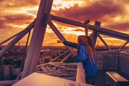 Get your heart beating with views of Dublin at Dusk from the roof of Croke Park