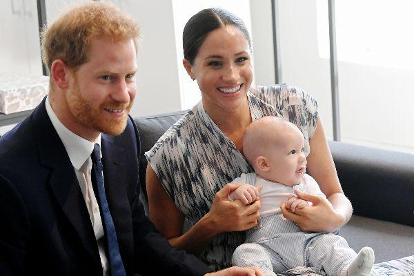 Our little pumpkin: Harry and Meghan mark their first Halloween with Archie