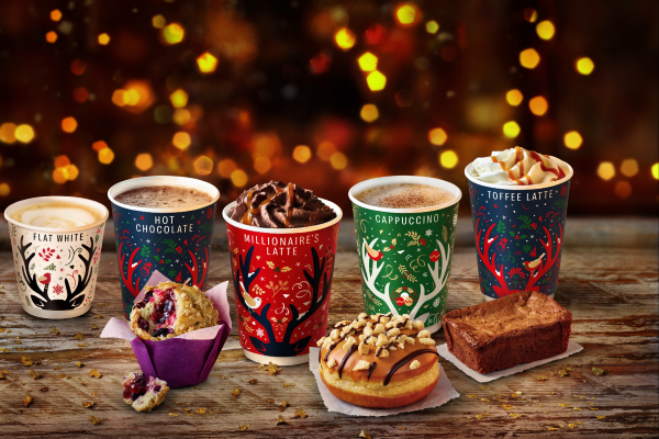 McDonalds McCafe reveals their Christmas menu and the Millionaires Latte is BACK