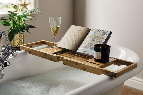 Wine in the tub? Aldi are selling a bath tray and we need one in our lives
