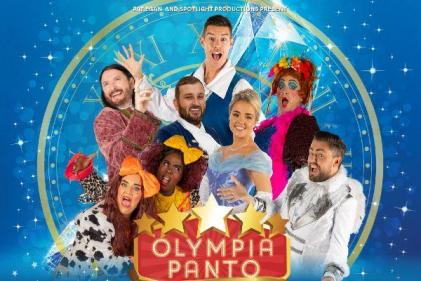Get your tickets! This years Olympia Panto is going to be the greatest